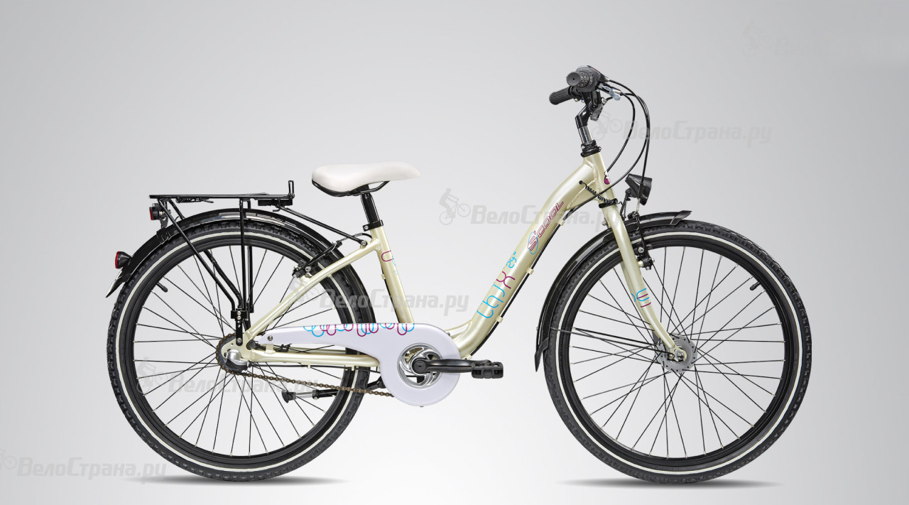 Велосипед Scool chiX comp 24 3-S (2015) велосипед scool chix pro 24 24 s 2016