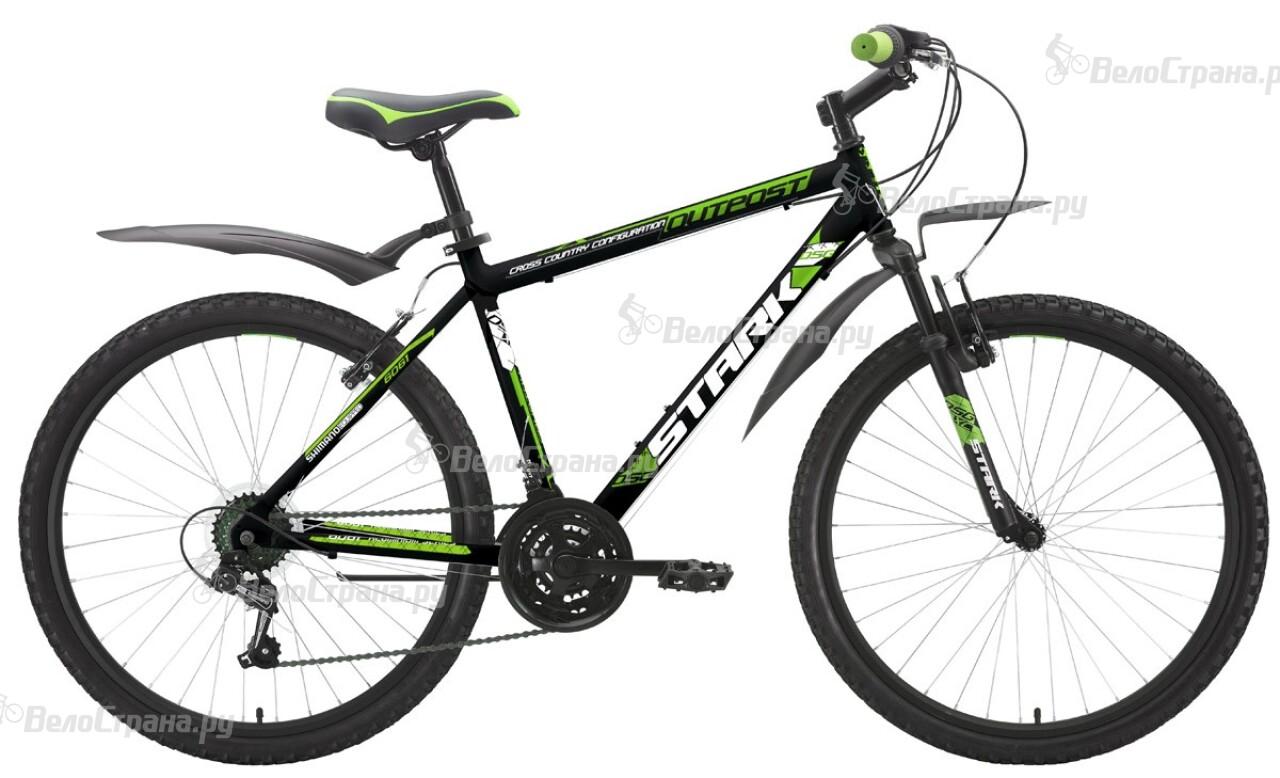 Велосипед Stark Outpost (2015) велосипед stark outpost 26 1 d черно зеленый 16