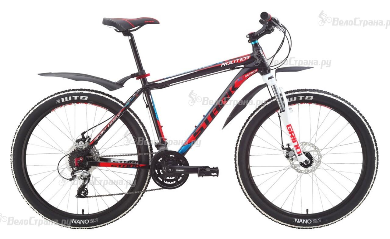 Велосипед Stark Router Disc (2015) велосипед stark indy disc 26 2016
