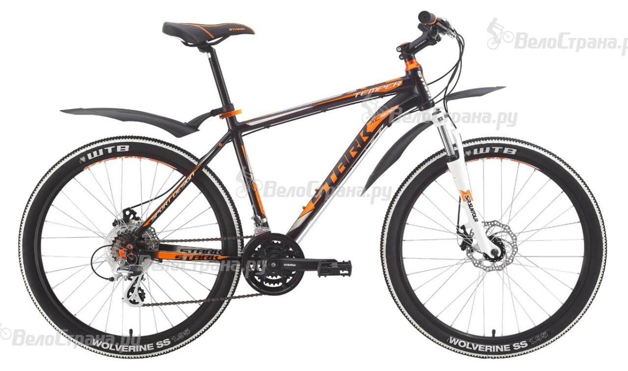 Велосипед Stark Temper Disc (2015) велосипед stark indy disc 26 2016