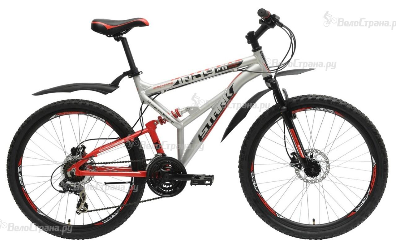 Велосипед Stark Indy FS HD (2015) велосипед challenger mission lux fs 26 черно красный 16