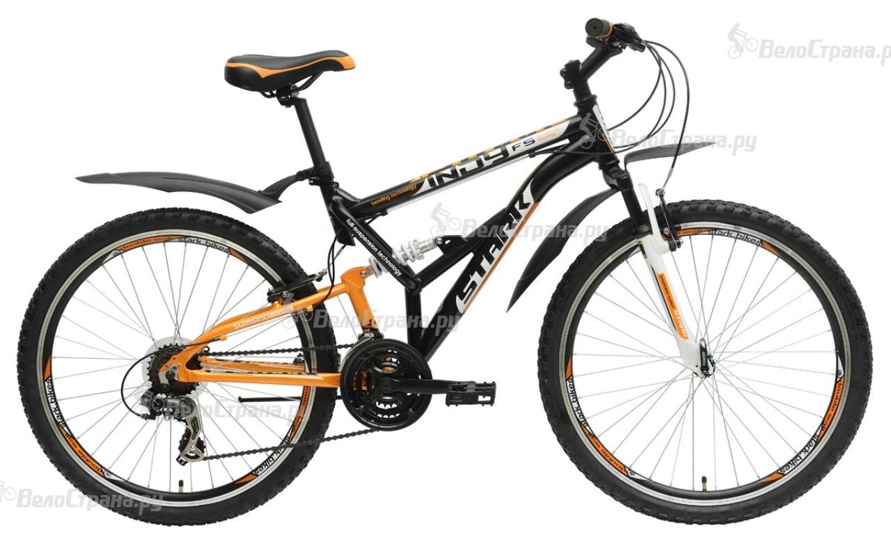 Велосипед Stark Indy FS (2015) велосипед challenger mission lux fs 26 черно красный 16