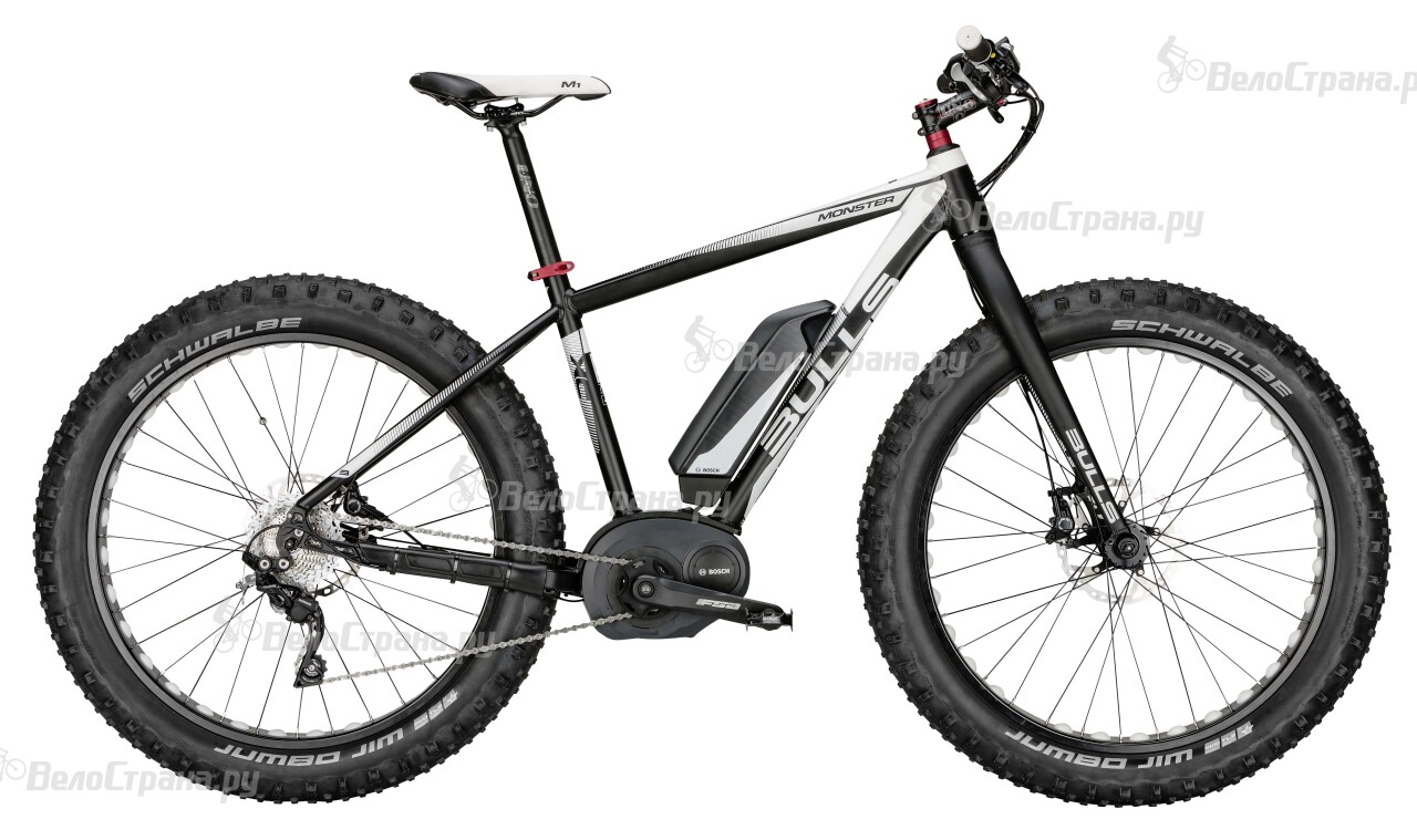 Велосипед Bulls Monster E (2015) 2015 csm360