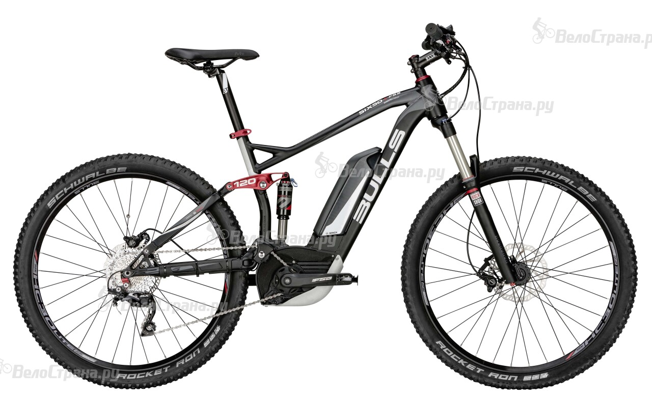 Велосипед Bulls SIX50-E FS 2 (2015) велосипед bulls six50 e 3 2016