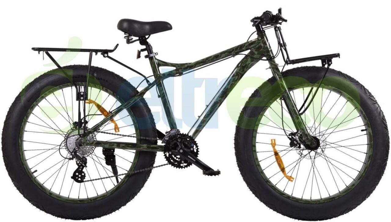 Велосипед Eltreco X4 Камуфляж (2014) трицикл eltreco gm porter