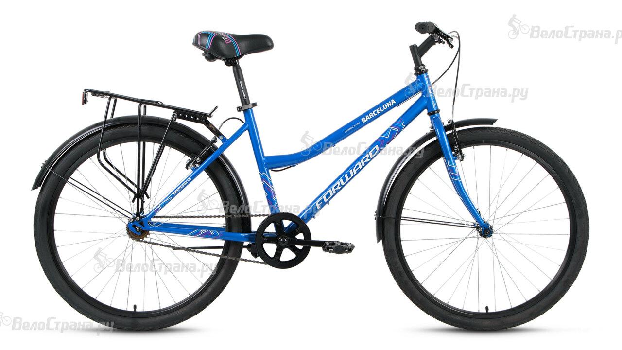 Велосипед Forward Barcelona 1.0 (2016) велосипед forward terra 1 0 2016 18 navy white