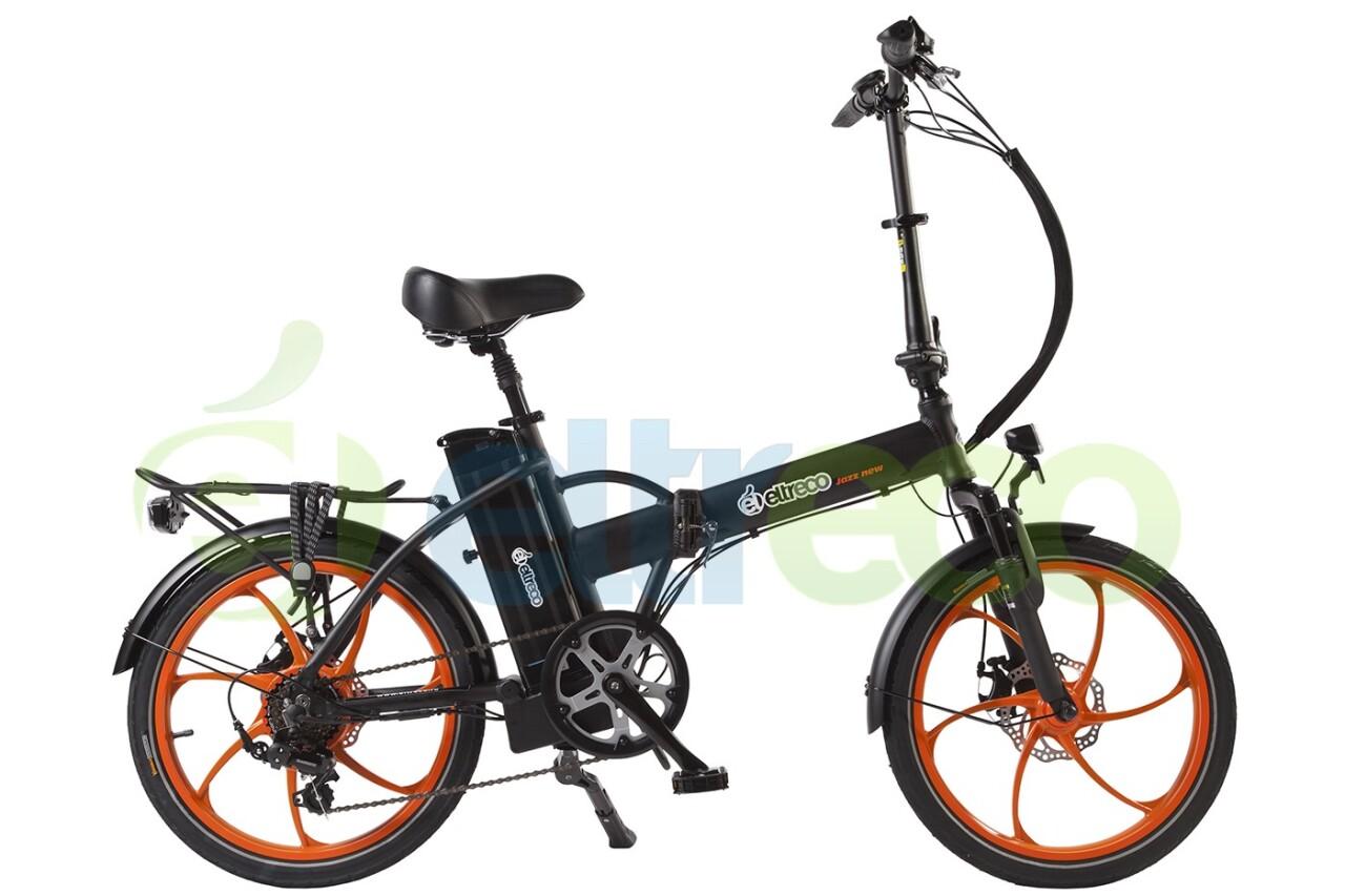 Велосипед Eltreco JAZZ 350W (2016) велосипед eltreco vector 350w 2016