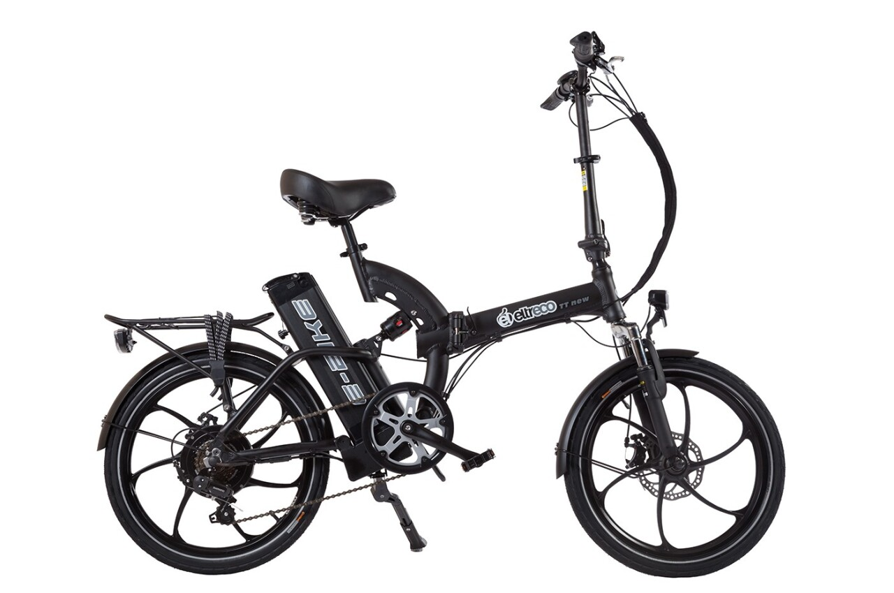 Велосипед Eltreco TT 500W (2016) tt 02 diy car model tt motor encoder w wheel black yellow