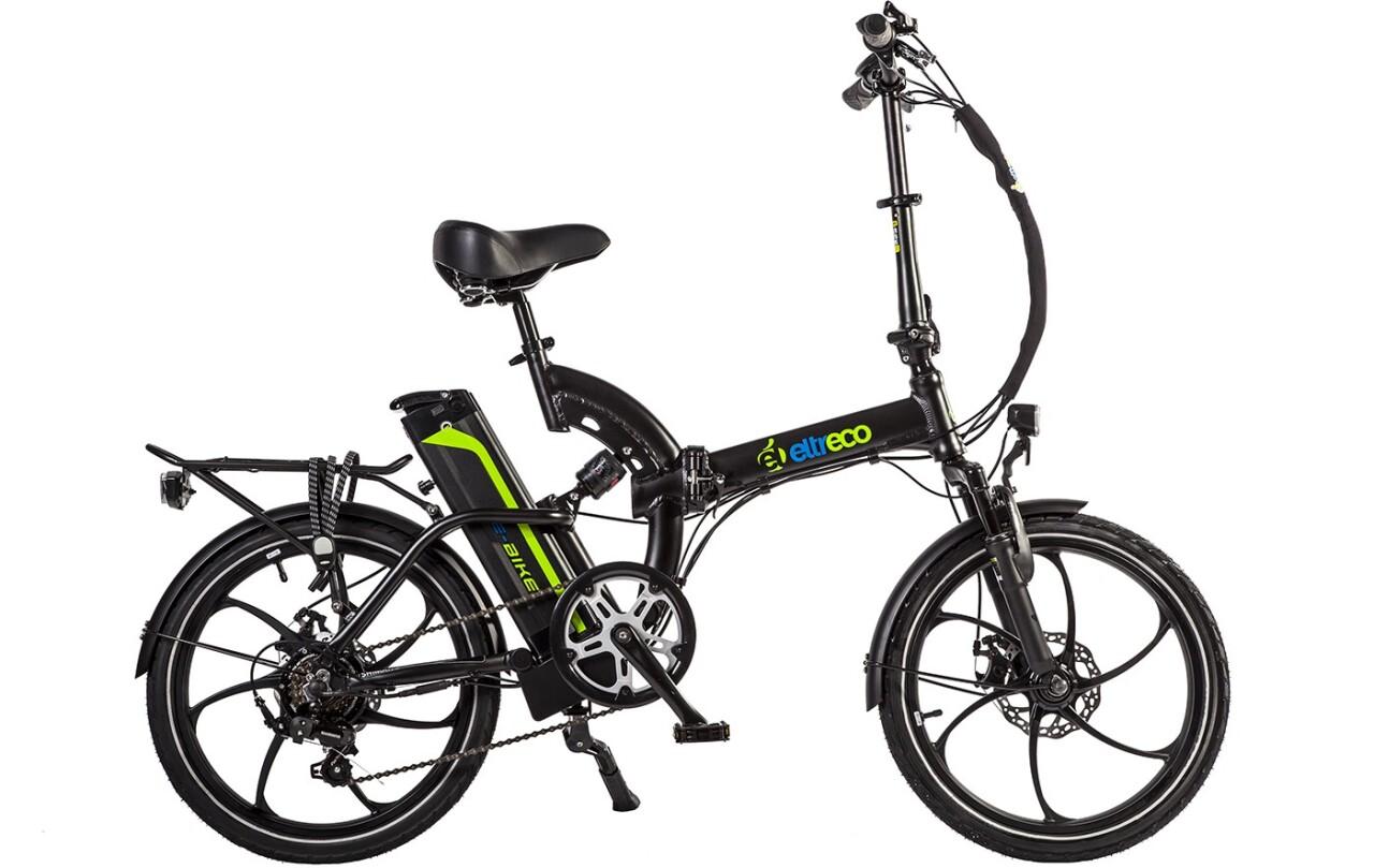 Велосипед Eltreco TT 350W (2016) tt 02 diy car model tt motor encoder w wheel black yellow