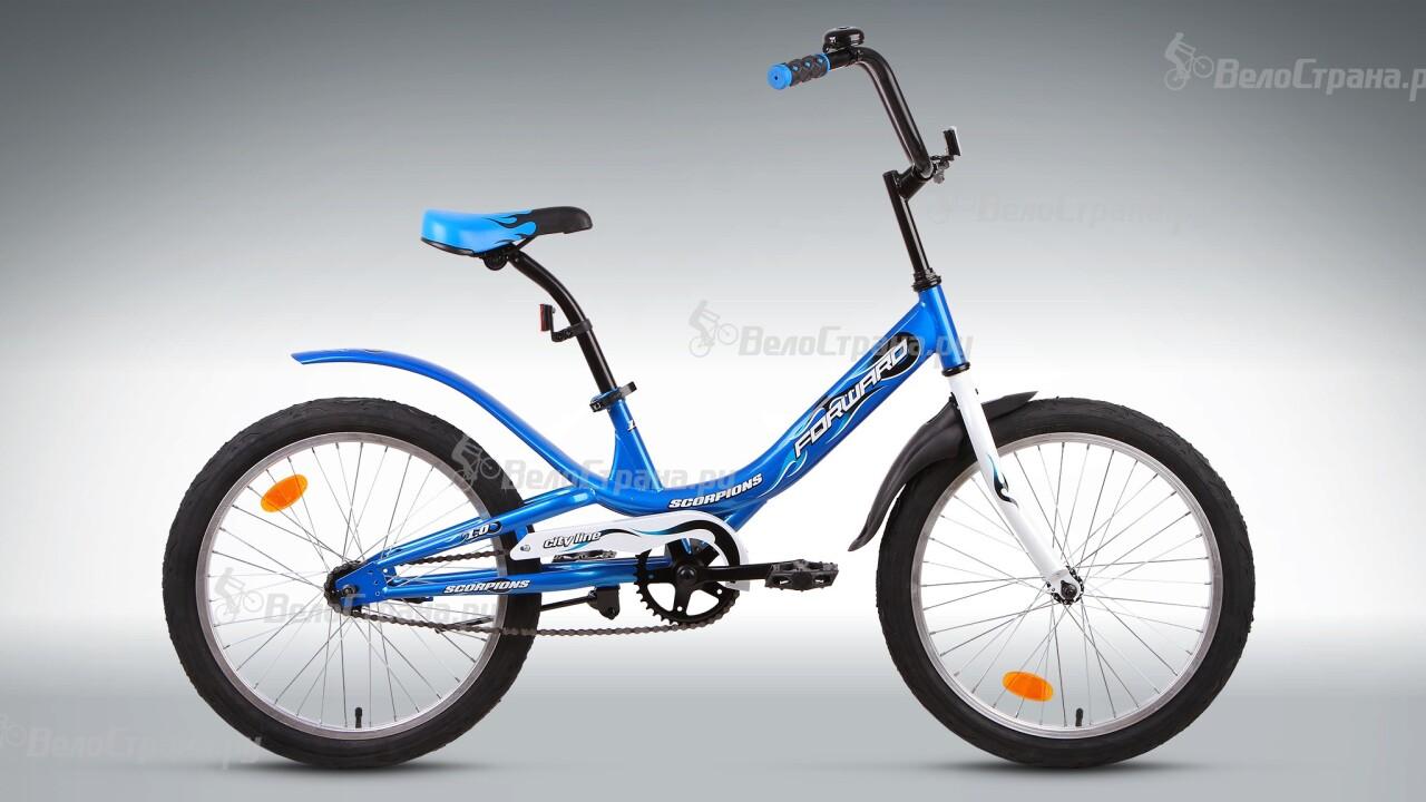 Велосипед Forward Scorpions 1.0 (2015) велосипед forward cyclone 2 0 2015
