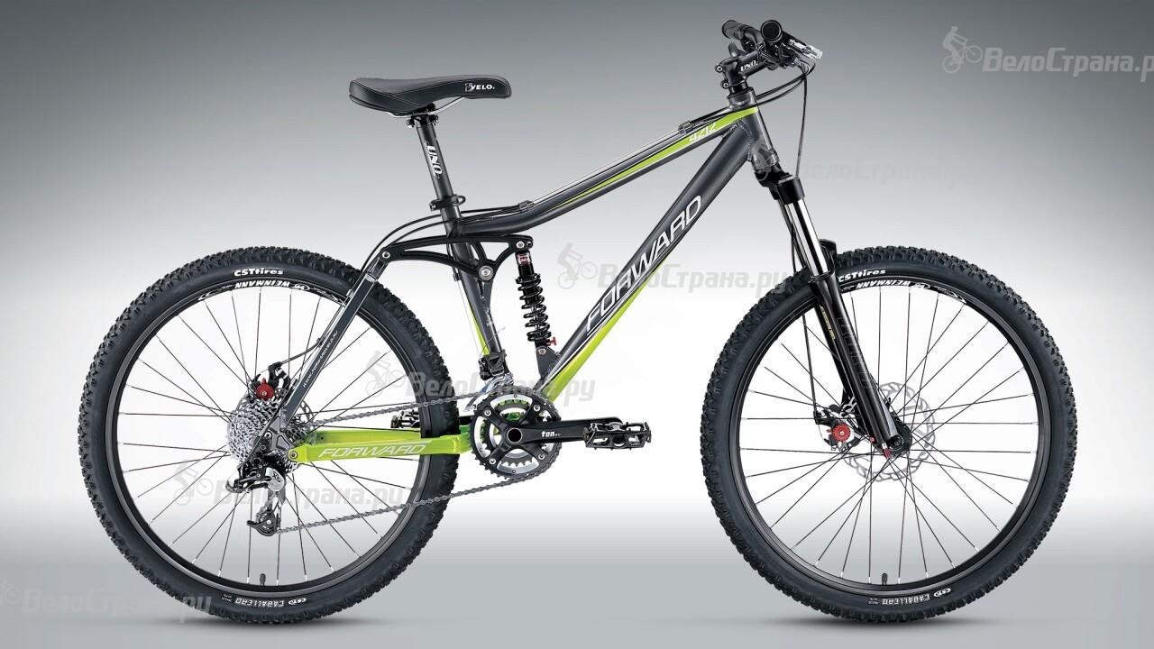Велосипед Forward 4212 (2015) двухколесный велосипед forward quadro 1 0 рост 19 26 2015 2016 синий