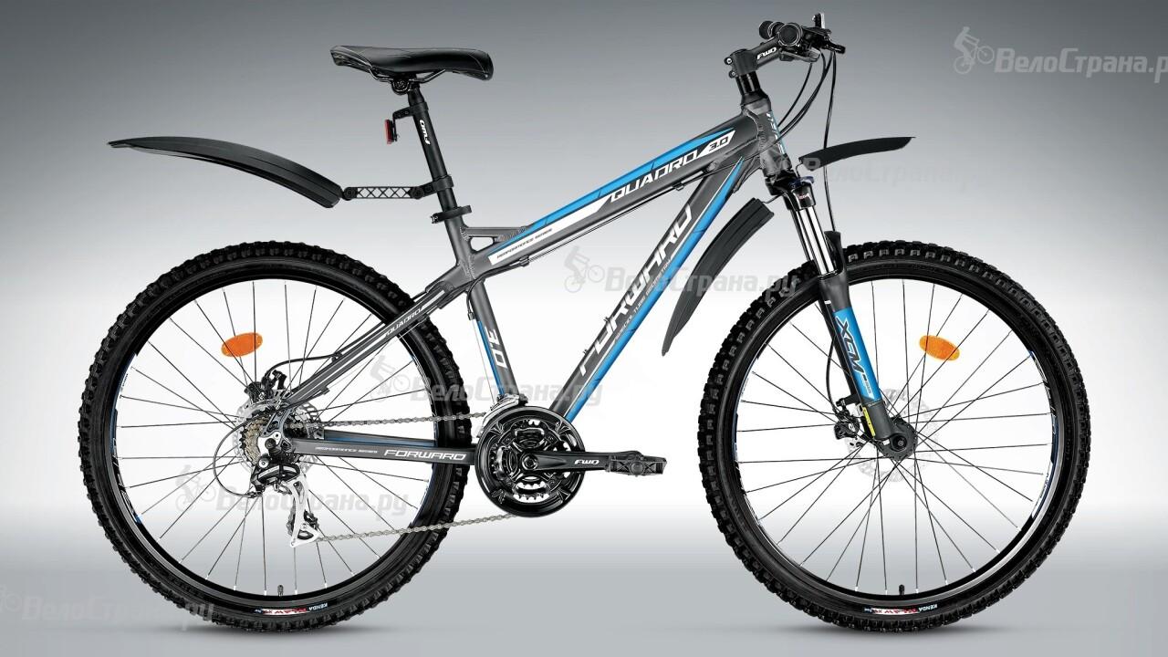 Велосипед Forward Quadro 3.0 disc (2015) forward terra 2 0 disc 16 2014 white black