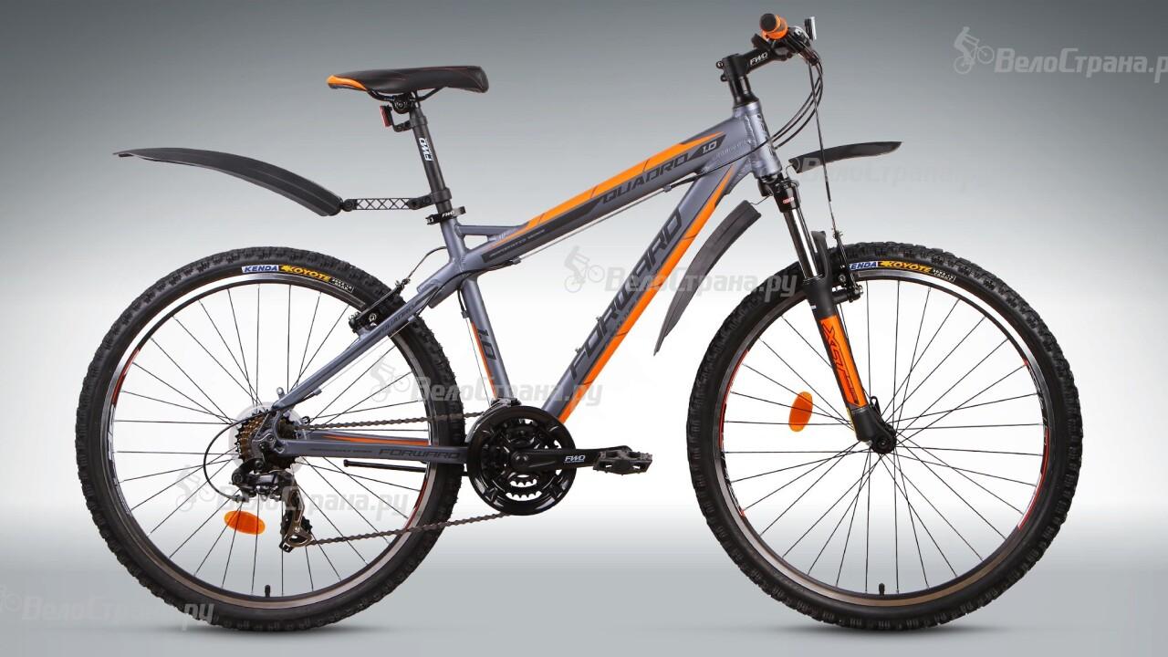 Велосипед Forward Quadro 1.0 (2015) двухколесный велосипед forward quadro 1 0 рост 19 26 2015 2016 синий