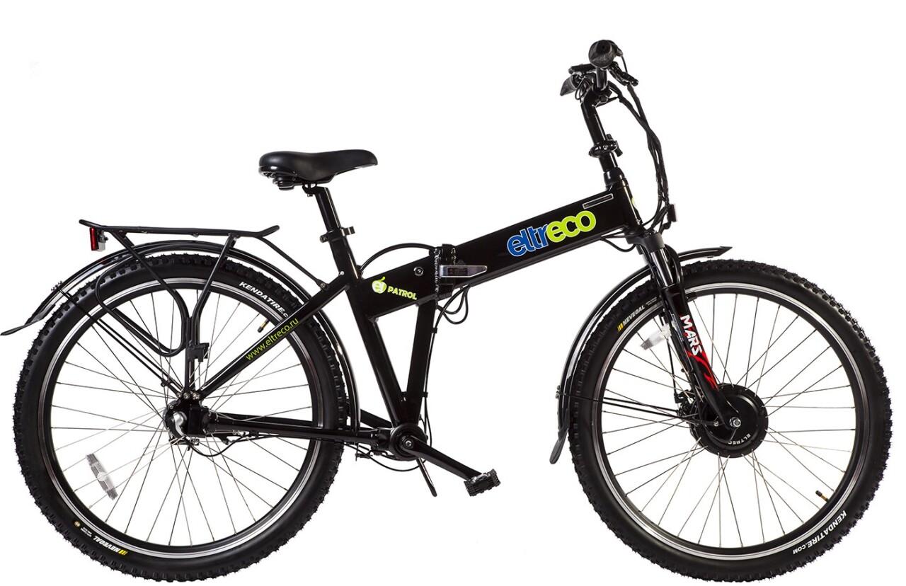 Велосипед Eltreco PATROL КАРДАН 26 NEXUS 7 (2016)