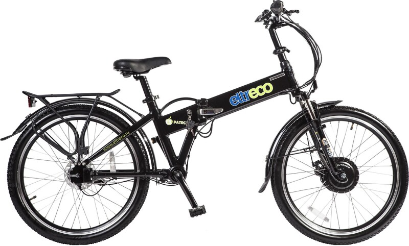 Купить Электровелосипед Eltreco PATROL КАРДАН 24 Nexus 3 (2016)