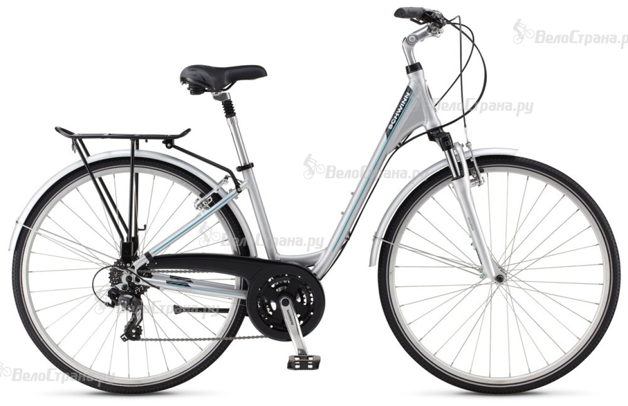 Велосипед Schwinn Voyageur 1 commute step-thru (2014) велосипед schwinn streamliner 1 step thru 2014