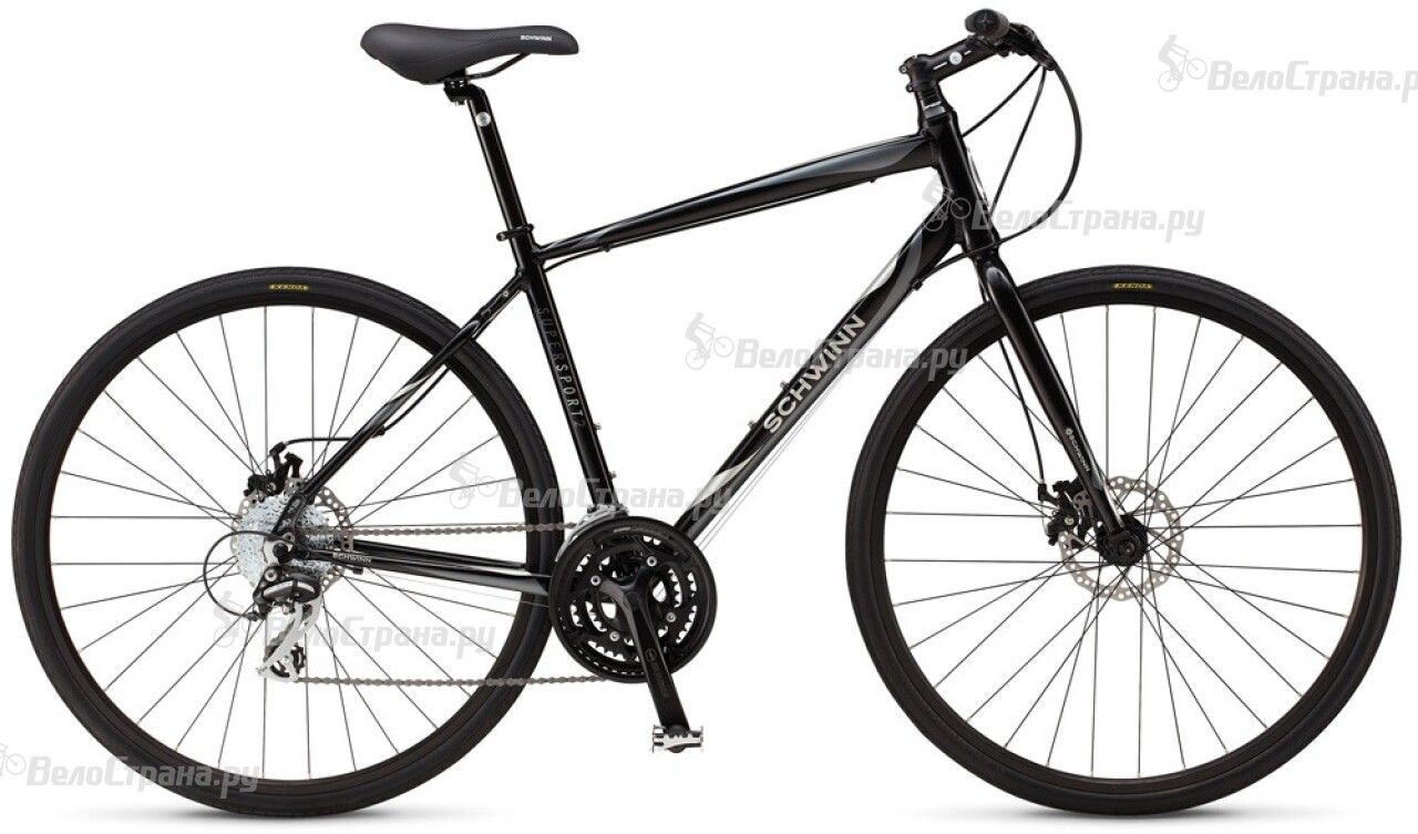 Велосипед Schwinn Super Sport 2 disc (2014) forward terra 2 0 disc 16 2014 white black