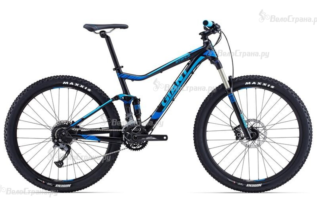 Велосипед Giant Stance 27.5 2 (2015) giant stance 27 5 2 2015 black cyan