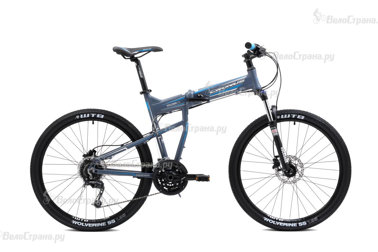 Велосипед Cronus Soldier 2.5 26 (2016) велосипед challenger mission lux fs 26 черно красный 16