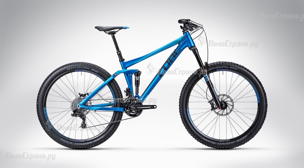 Велосипед Cube Stereo 140 HPA Pro 27.5 (2015) велосипед cube stereo 160 hpa race 27 5 2016