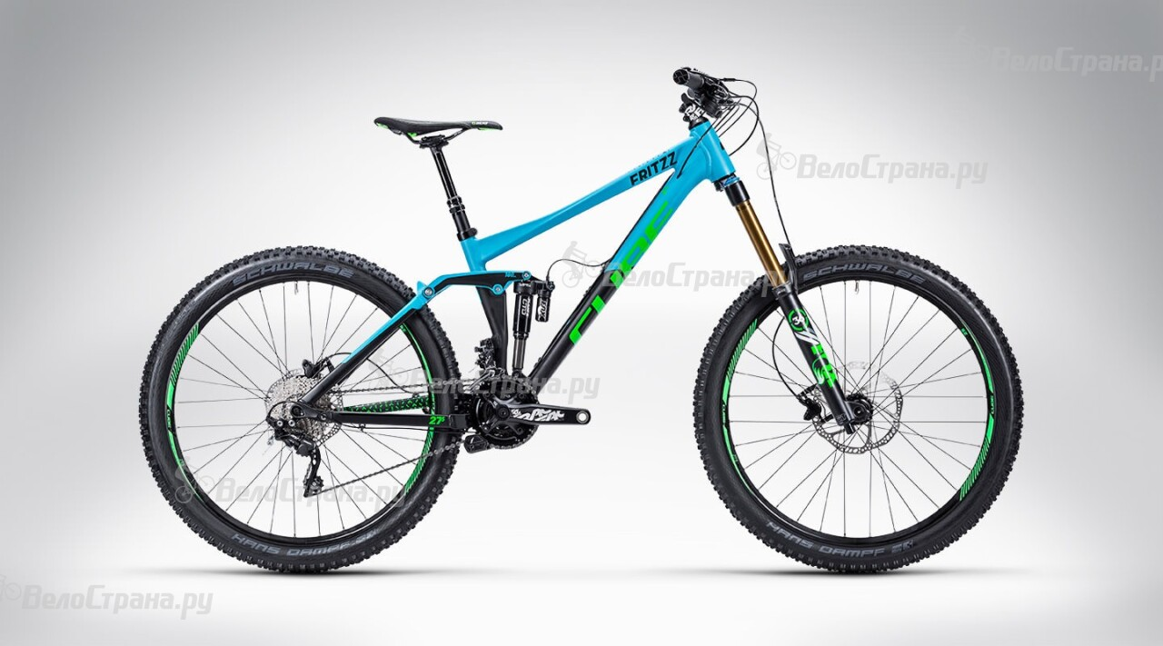 Велосипед Cube Fritzz 180 HPA Race 27.5 (2015) велосипед cube stereo 160 hpa race 27 5 2016