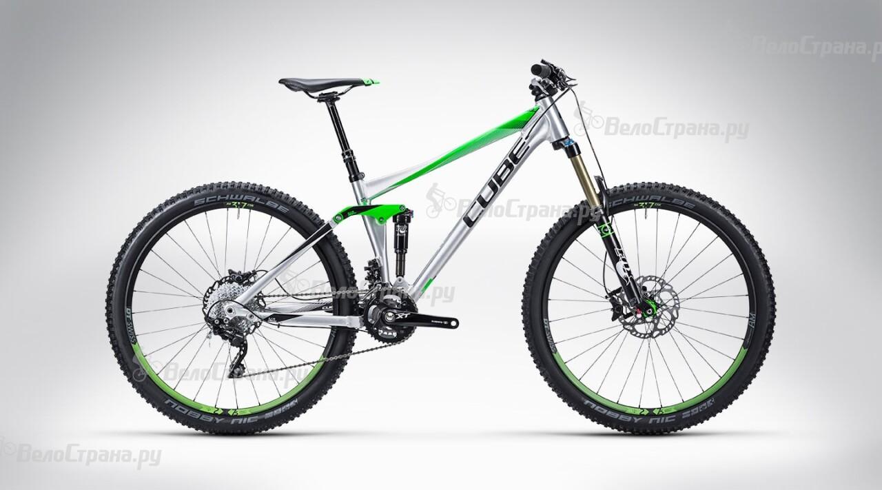 Велосипед Cube Stereo 140 HPA Race 27.5 (2015) велосипед cube stereo 160 hpa race 27 5 2015