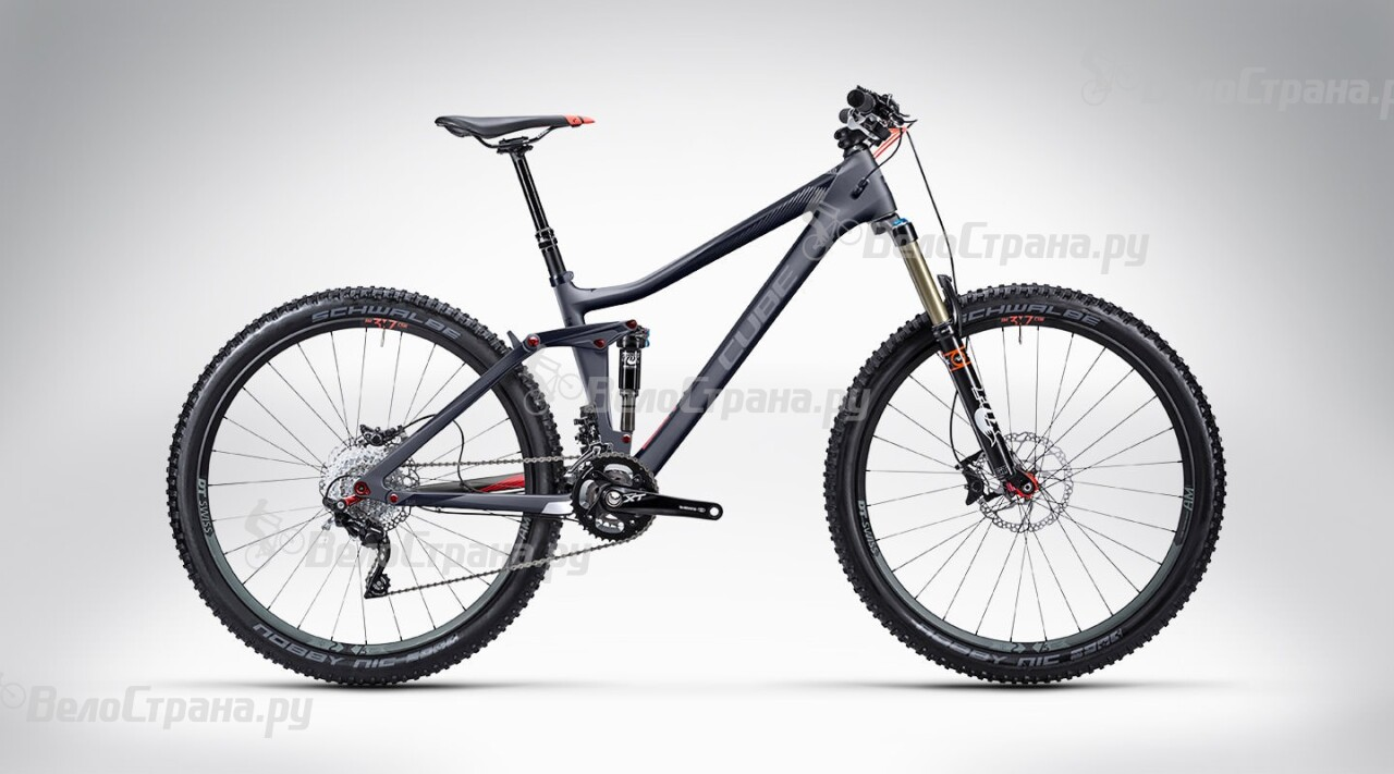 Велосипед Cube Stereo 140 Super HPC Race 27.5 (2015) велосипед cube stereo 120 hpc race 29 2015
