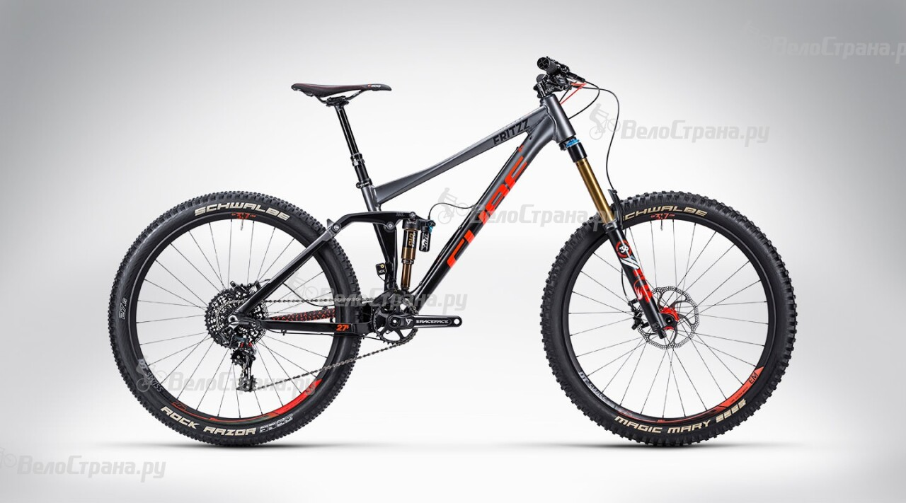 Велосипед Cube Fritzz 180 HPA SL 27.5 (2015) грипсы cube fritzz grips