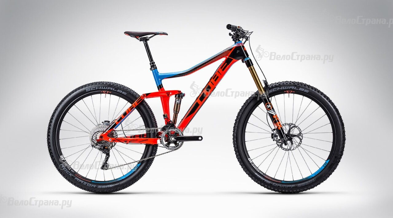 Велосипед Cube Stereo 160 Super HPC action team 27.5 (2015)