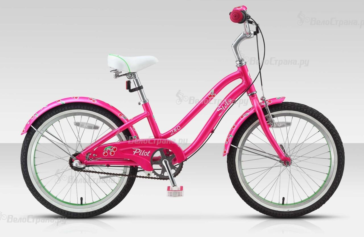 Велосипед Stels Pilot 240 Girl 3sp (2015) stels pilot 210 girl 11 2015 yellow pink
