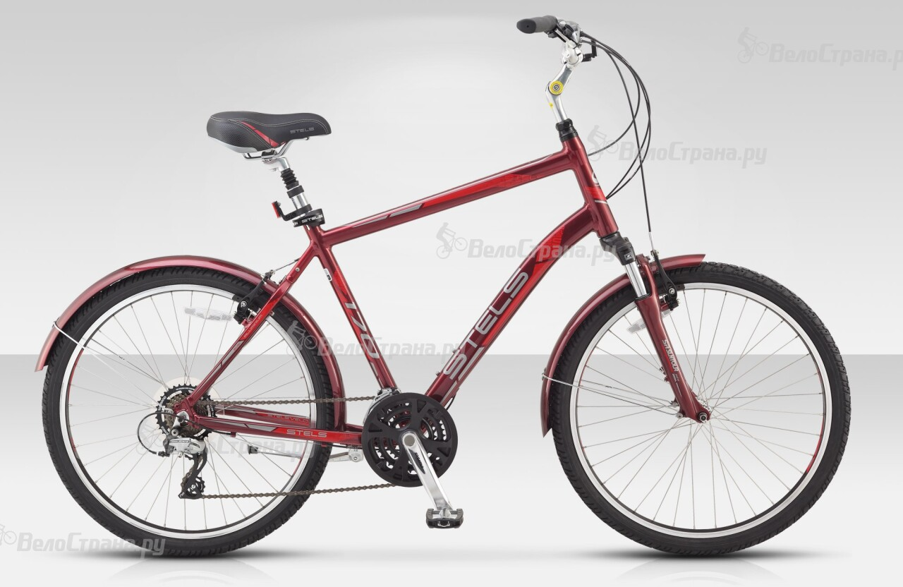 Велосипед Stels Navigator 170 (2015) велосипед stels navigator 320 2017