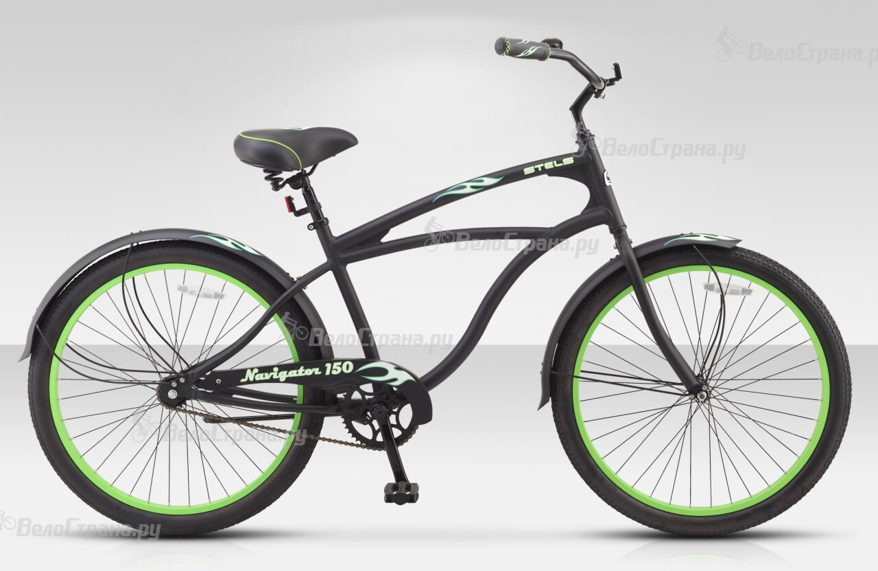 Велосипед Stels Navigator 150 1sp (2015) велосипед с корзиной stels navigator 380 gent 20 2015 black green