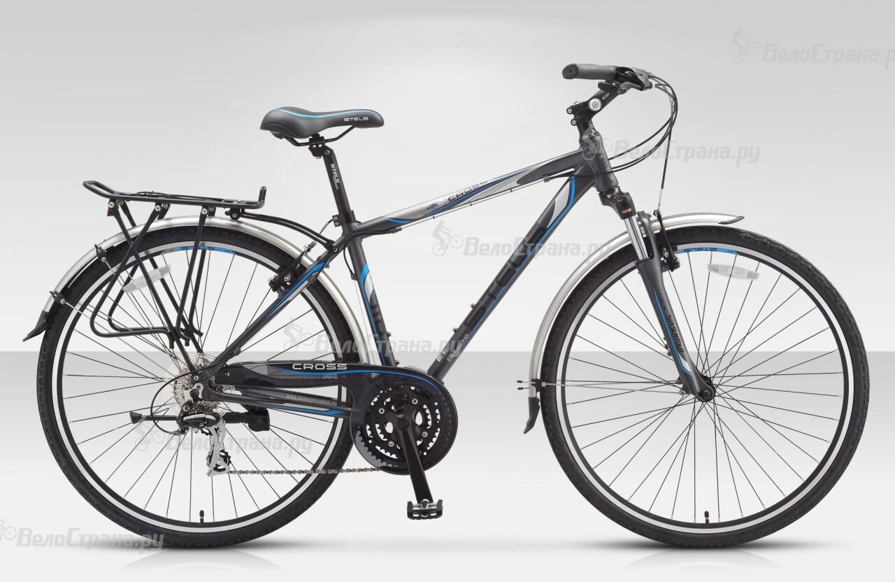Велосипед Stels Cross 110 (2015) велосипед stels navigator 380 2016