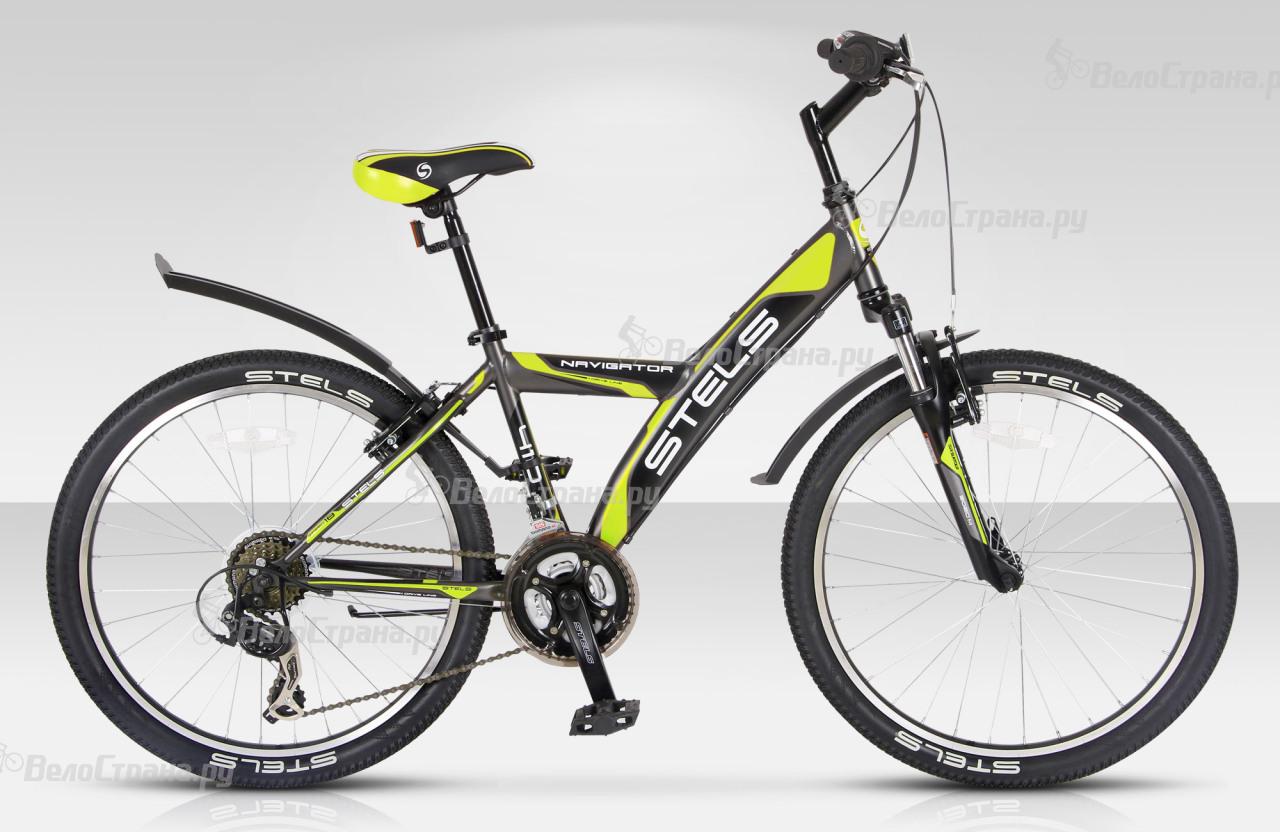 Велосипед Stels Navigator 410 V (2015) велосипед stels navigator 410 v 21 sp 2017
