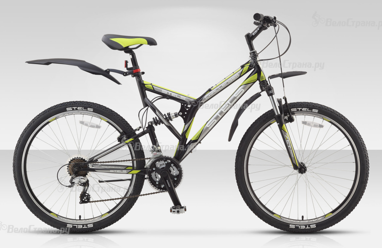 Велосипед Stels Challenger V (2015) велосипед challenger mission lux fs 26 черно красный 16