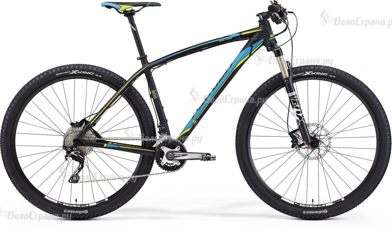 Велосипед Merida BIG.NINE 800 (2015) merida bigseven 800 27 5