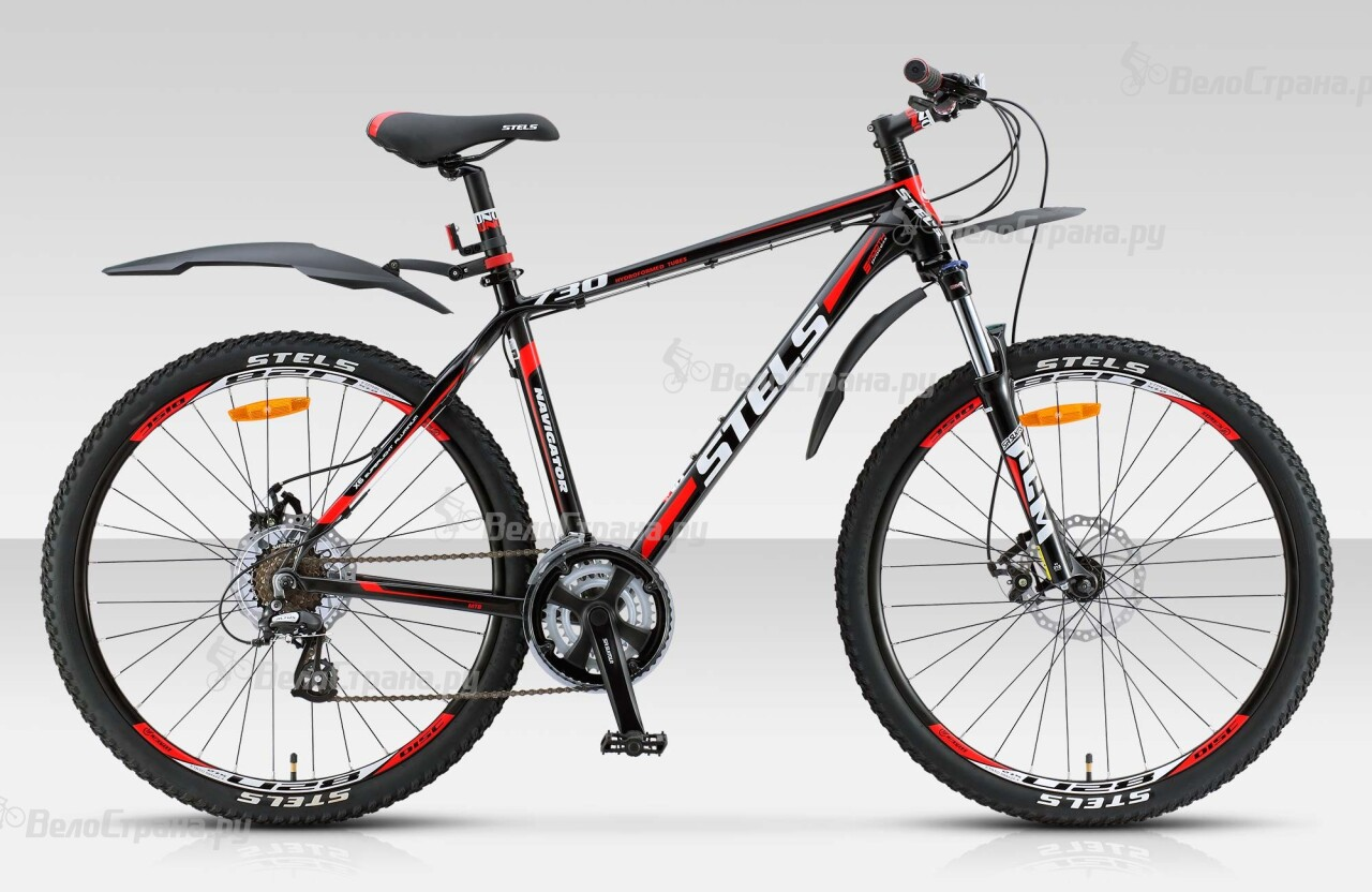 Велосипед Stels Navigator 730 MD 27.5 (2015) велосипед stels navigator 850 md 2016
