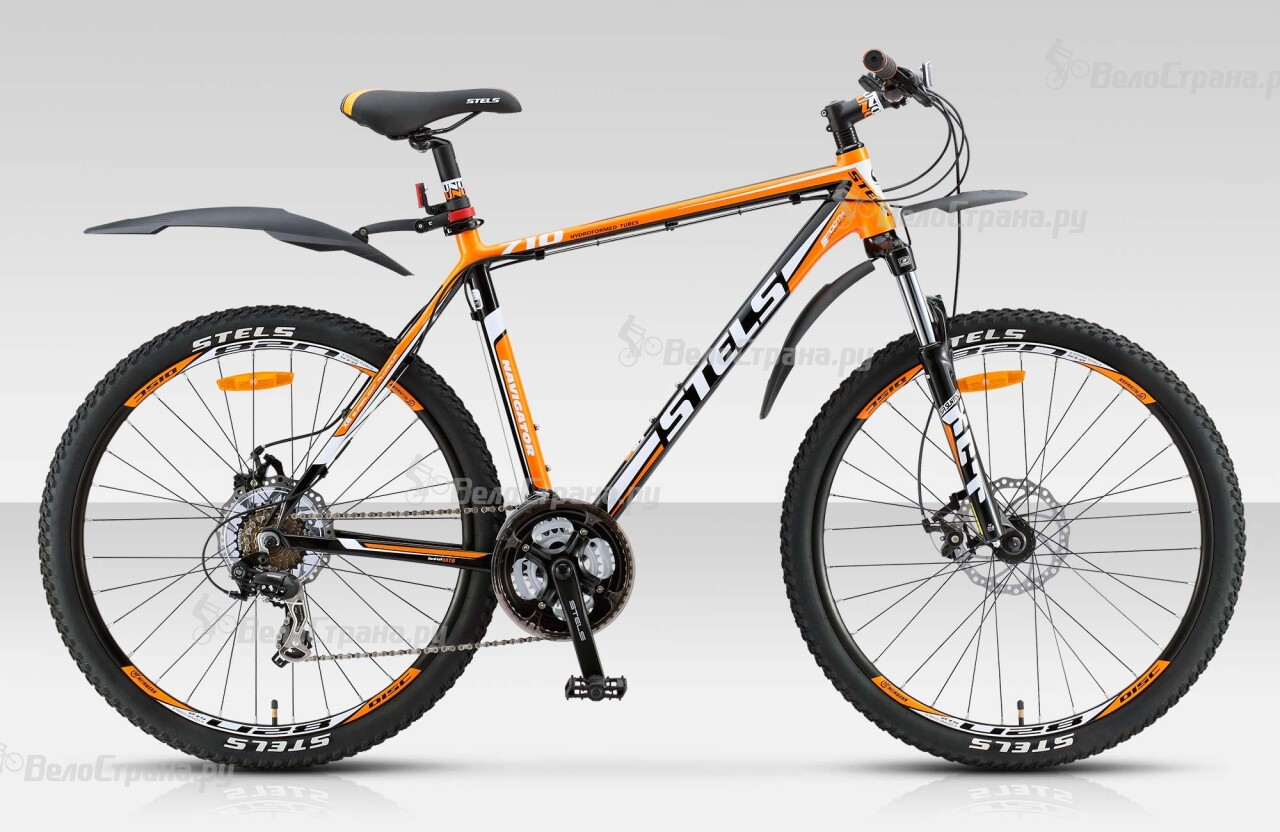 Велосипед Stels Navigator 710 MD 27.5 (2015) велосипед stels navigator 850 md 2016