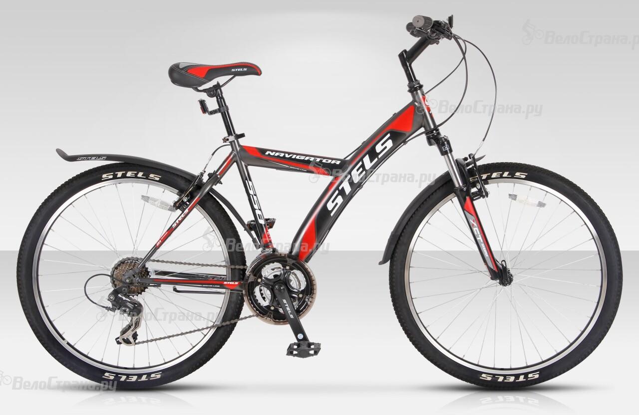 Велосипед Stels Navigator 550 V (2015) велосипед stels navigator 250 2016