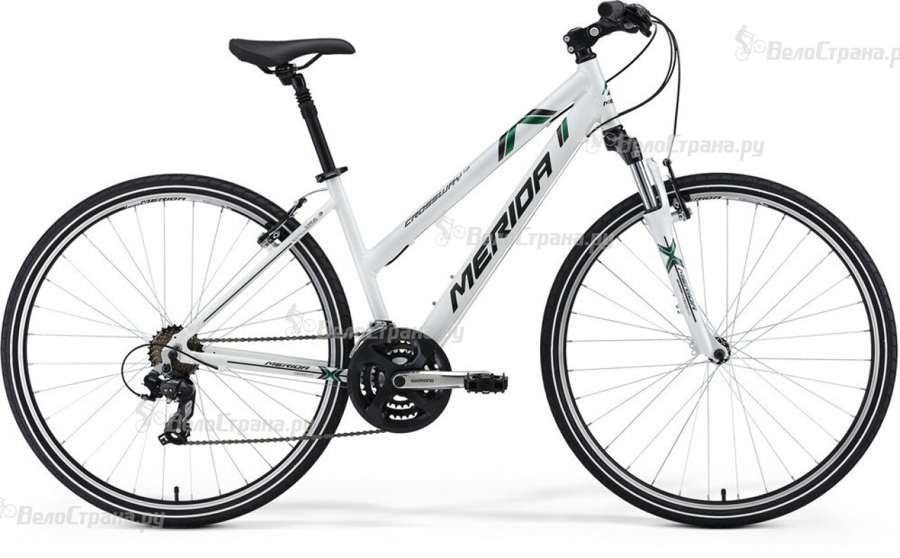 Велосипед Merida Crossway 10 Lady (2014) самокат навигатор lady 10