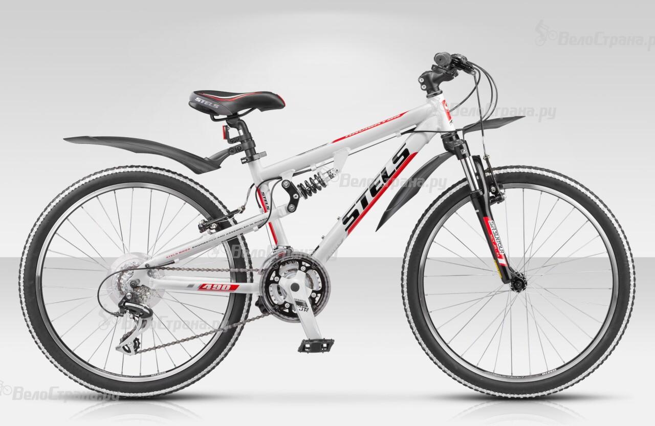 Велосипед Stels Navigator 490 (2014) велосипед stels navigator 380 2016