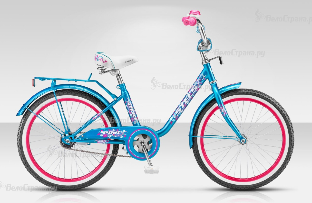 Велосипед Stels Pilot 200 Girl (2014) велосипед stels pilot 240 girl 3sp 2016