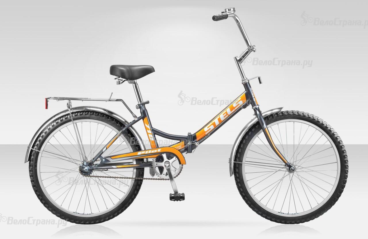 Велосипед Stels Pilot 710 (2014) stels pilot 710 24 рама 16 белый синий