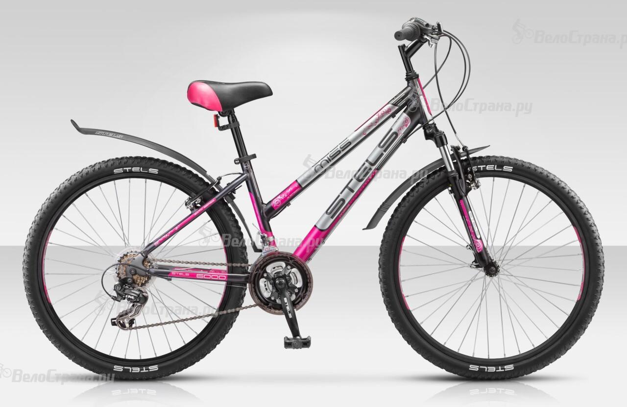 Велосипед Stels Miss 6000 (2014) велосипед stels miss 6000 v 15 2016 grey pink silver