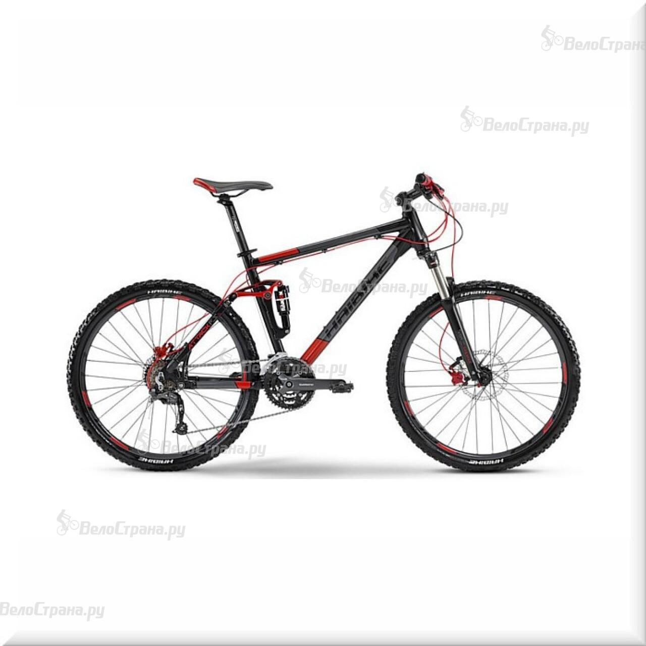 Велосипед Haibike Attack FS (2014) велосипед challenger mission lux fs 26 черно красный 16