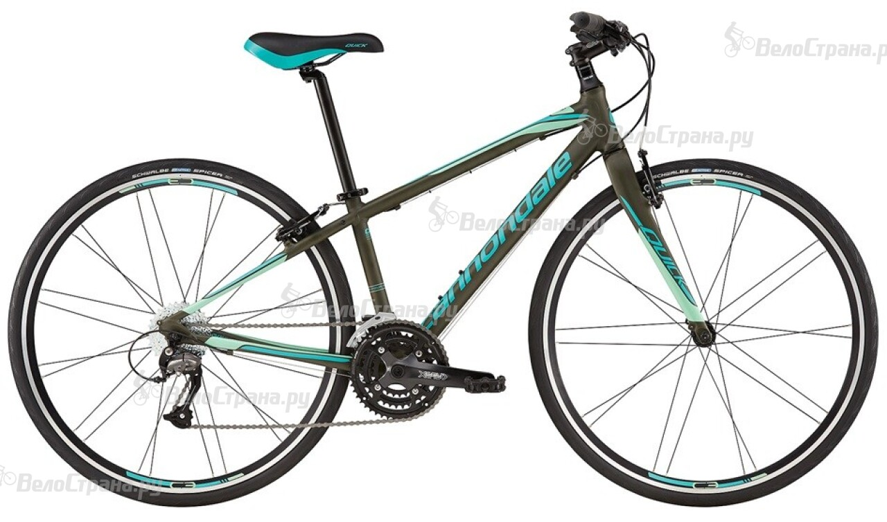 Велосипед Cannondale Quick Women's 4 (2016) набор jtc 4050
