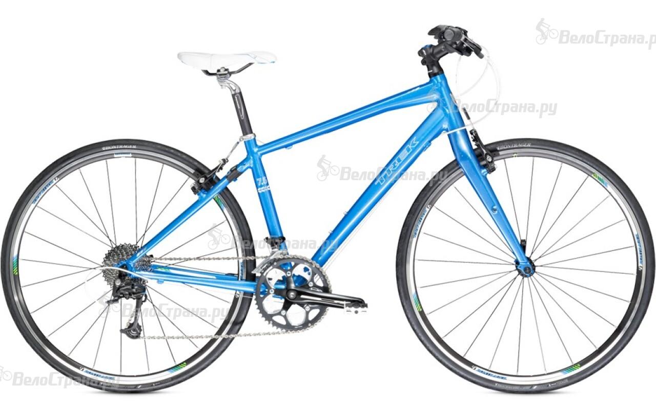 Велосипед Trek 7.5 FX WSD (2014) long sleeve plain pullover hoodie
