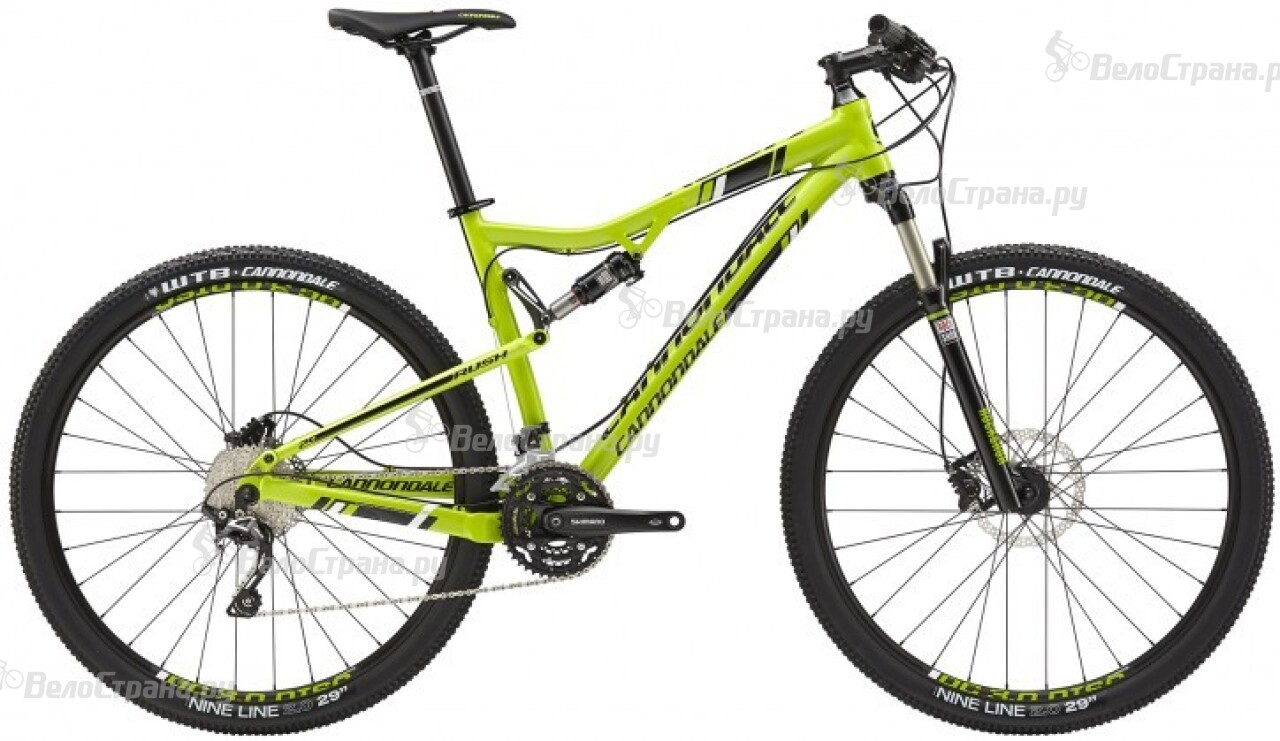 Велосипед Cannondale Rush 29 2 (2015) велосипед velolider rush army 18 ra18 хаки