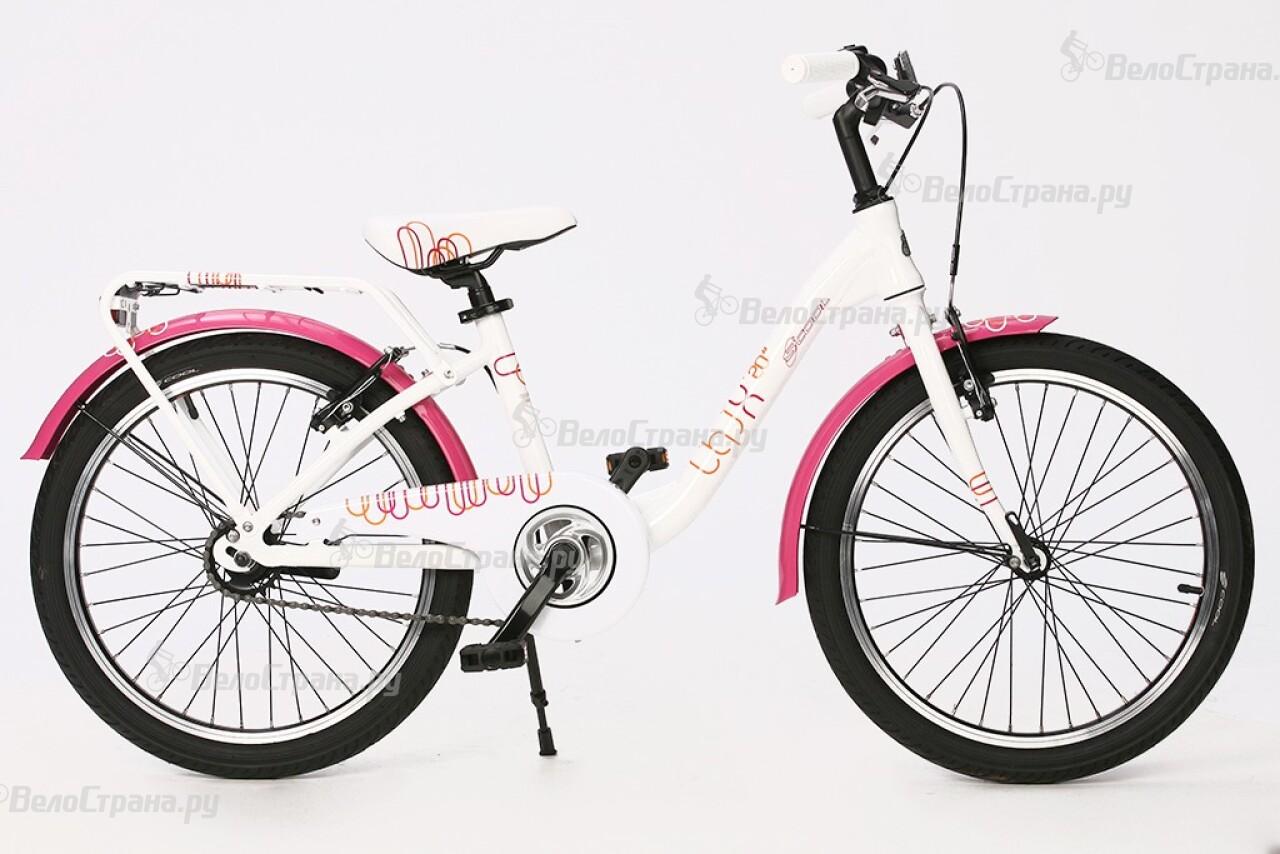 Велосипед Scool chiX 20 -1S (2014) кабель рулетка vention аудио jack 3 5 mm m jack 3 5 mm m 1м черный