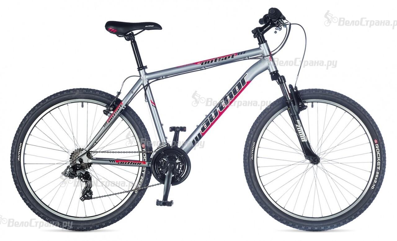 Велосипед Author Outset (2015) велосипед author outset disc 2015